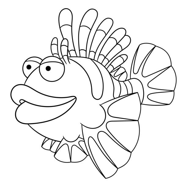 Royalty Free Lionfish Clip Art, Vector Images & Illustrations - iStock