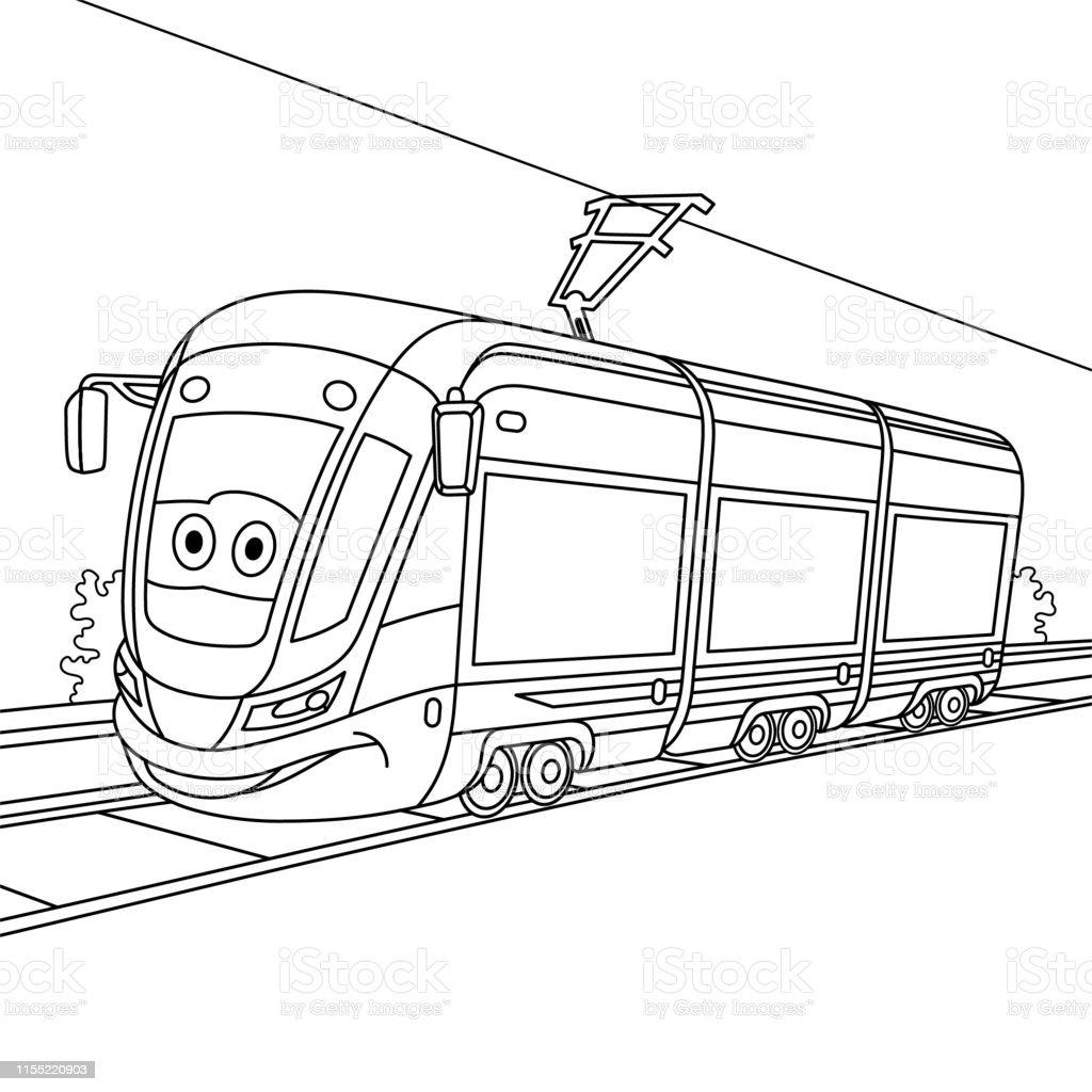 50 鉄道 塗り絵 印刷可能なぬりえ