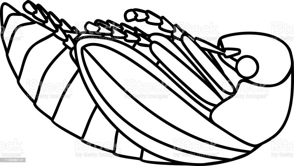 Ilustración De Página Para Colorear De Videoclips O Bug De