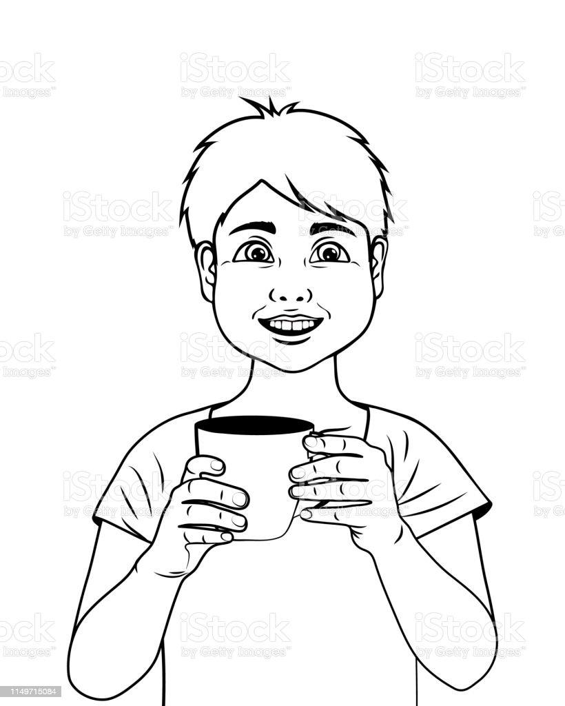 Karikatur Boyl Sayfa Anahat Boyama Cocuklar Icin Boyama Kitabi