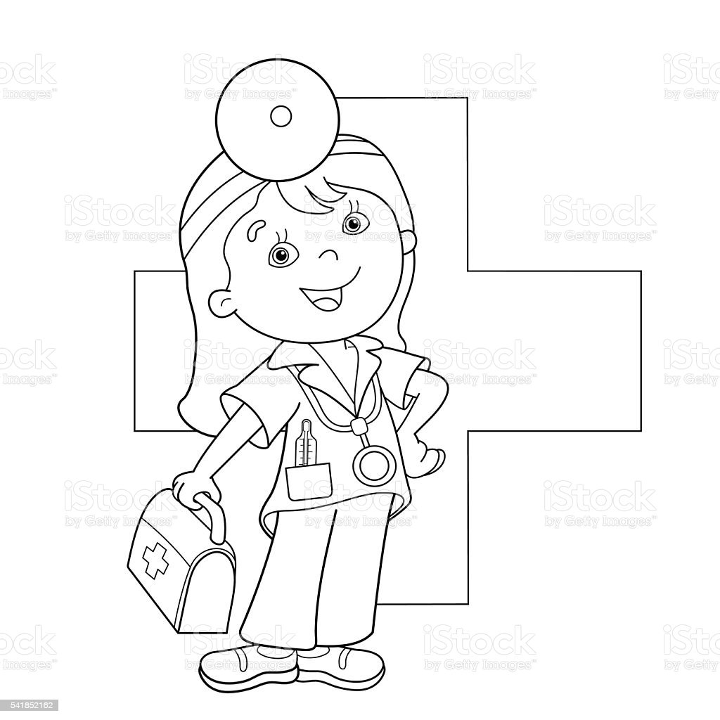 1 credit - Aid Coloring Pages Kids
