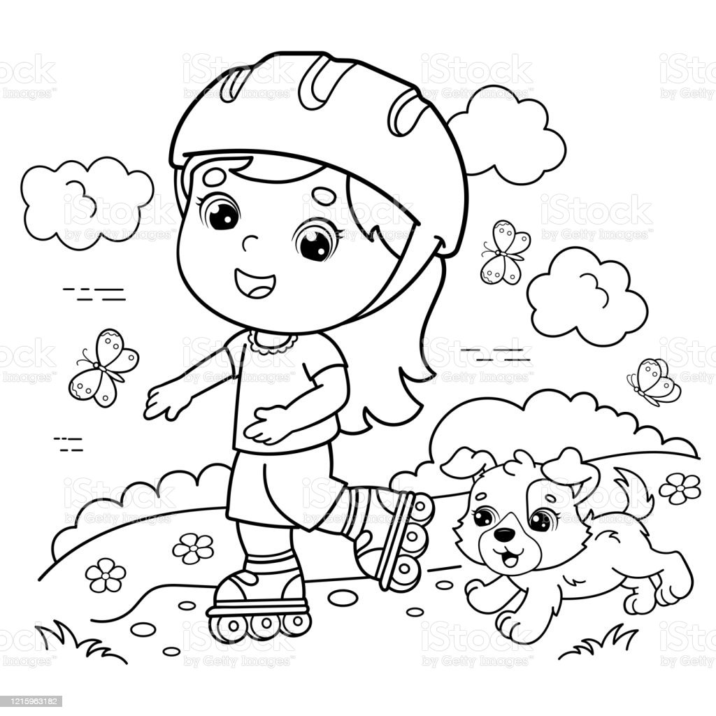 Free Printable Roller Skate Coloring Pages cakepins.com | Roller ... | 1024x1024