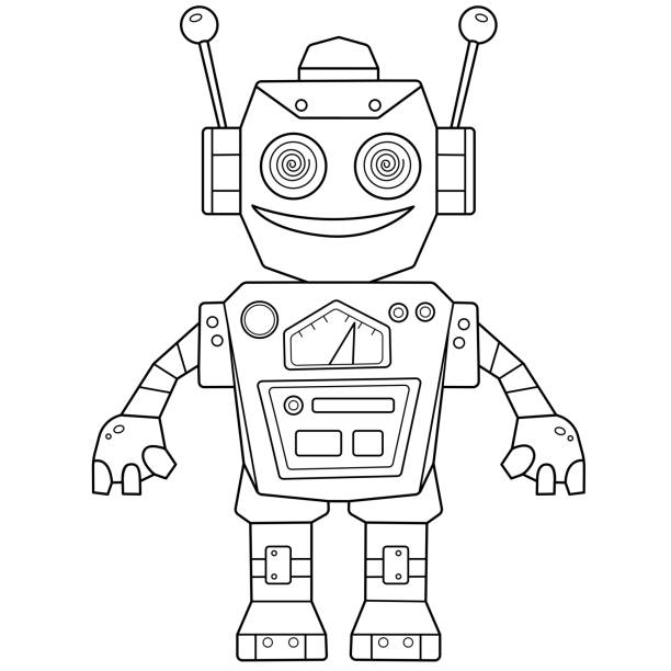 98 487 Coloring Pages Illustrations Clip Art Istock
