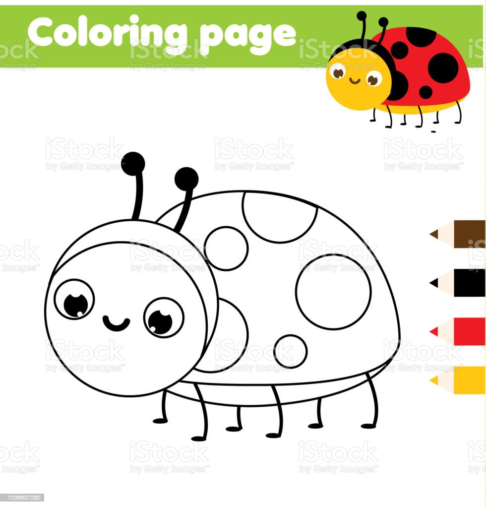 Little Bugs Coloring Pages for Kids - Easy Peasy and Fun   1024x980