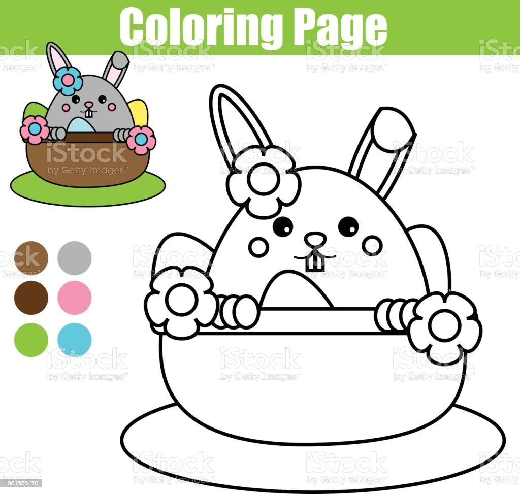 Malvorlagen Ostern Hase Charakter Zeichnung Aktivitäten Für