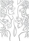 coloring page_koala04_