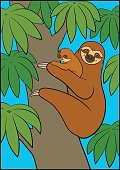 coloring page_sloth02_