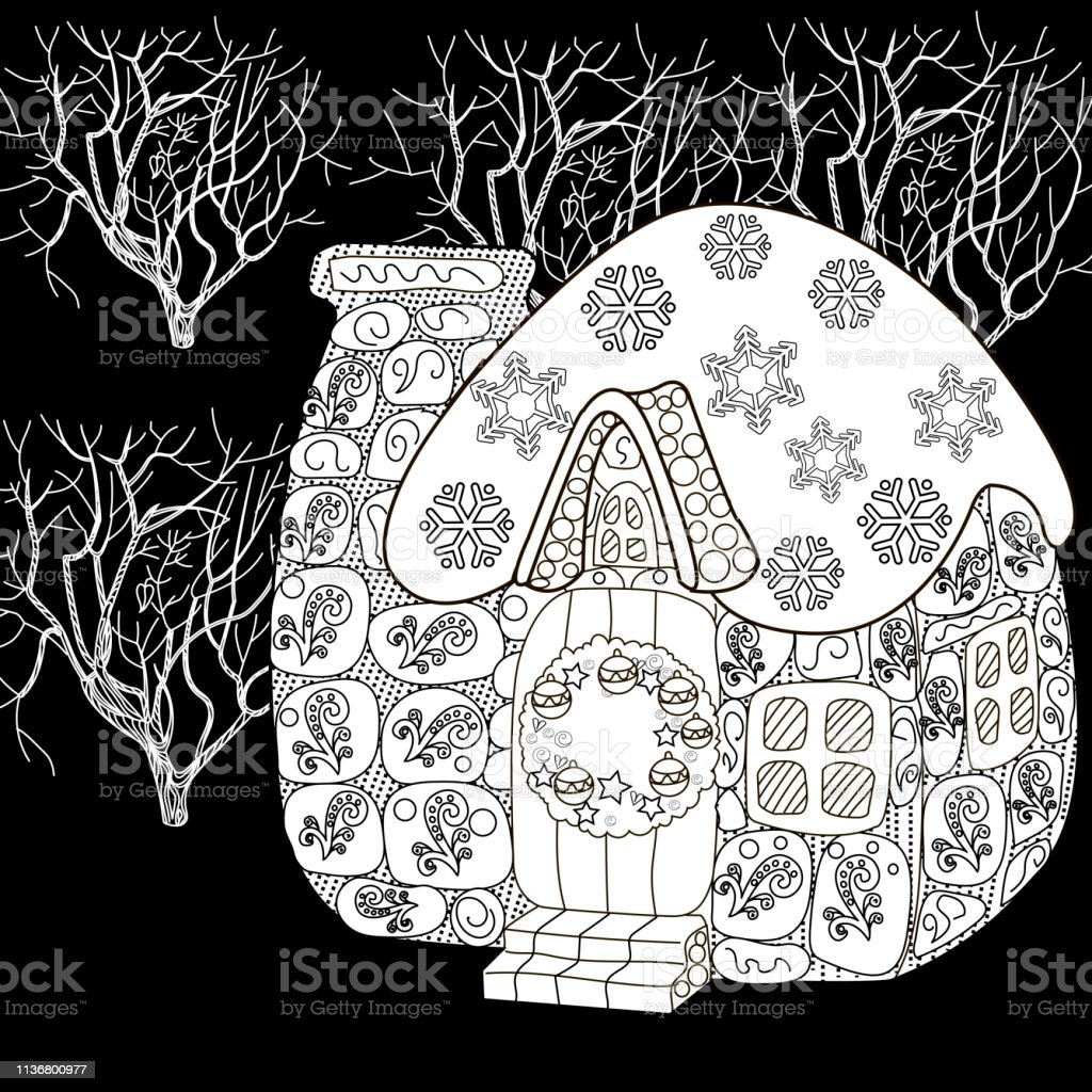 Coloring Pages Coloring Book For Adults Colouring Pictures Antistress  Freehand Sketch Drawing With Doodle And Zentangle Elements Stock  Illustration - Download Image Now - IStock
