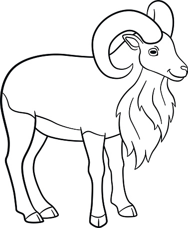 Horn (Olifant) coloring page | Free Printable Coloring Pages | 457x377
