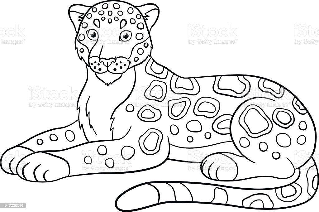 bilder zum ausmalen jaguar  malvorlagen