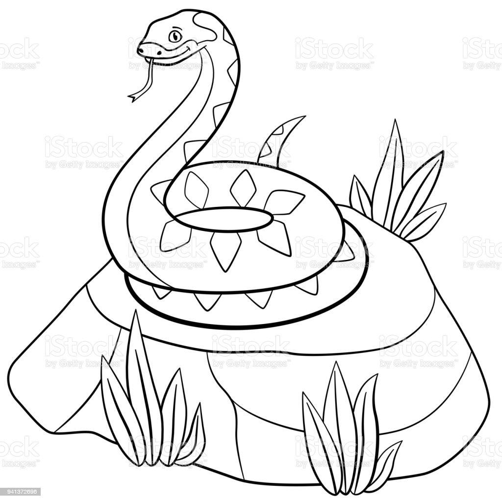 Ilustración de Dibujos Para Colorear Viper Lindo Se Encuentra En La ...