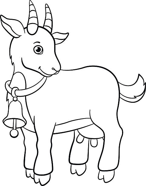 Royalty Free Kid Goat Clip Art