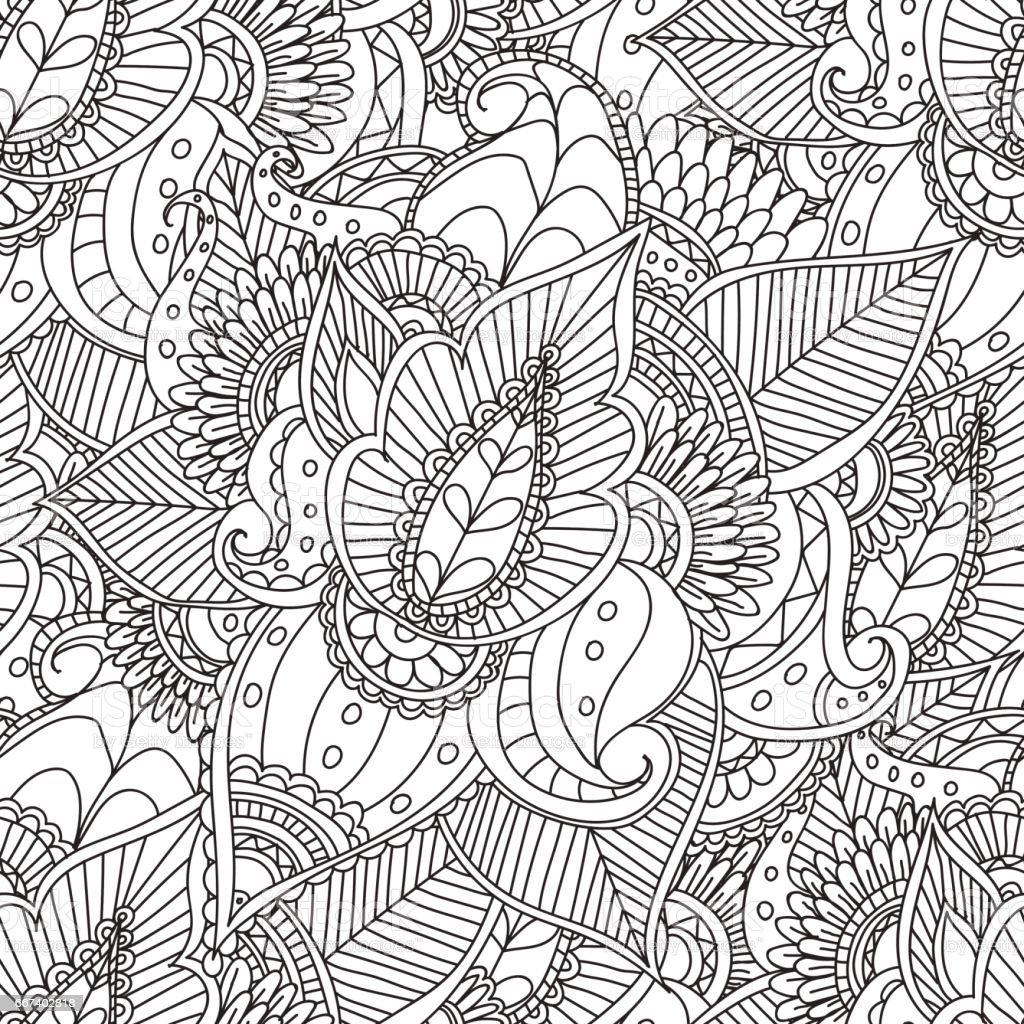 coloring pages for adultsdecorative hand drawn doodle nature ornamental curl vector sketchy. Black Bedroom Furniture Sets. Home Design Ideas