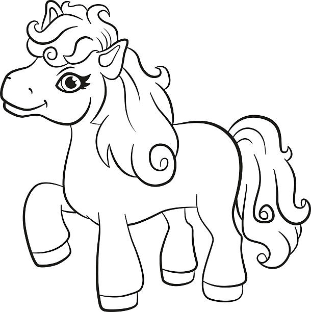 pony express coloring pages free - photo#31