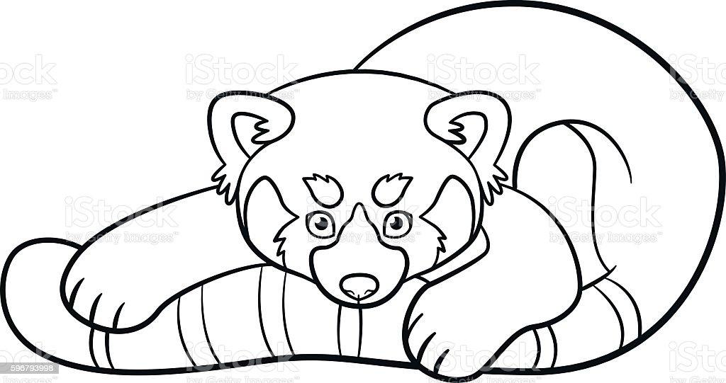 Royalty Free Red Panda Clip Art, Vector Images
