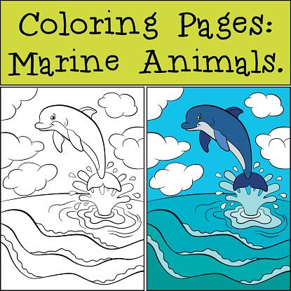malvorlagen unterwassertiere s