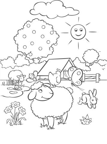 Coloring the farm