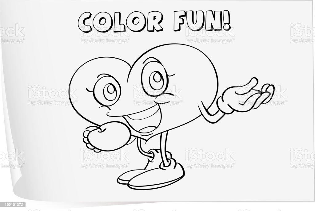 Colorear Hoja De Cálculo Illustracion Libre de Derechos 166161072 ...