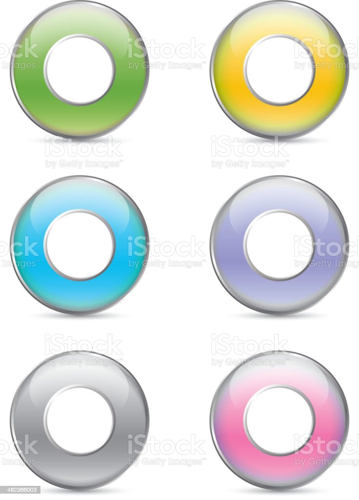 Colorized rings royalty-free colorized rings stock vector art & more images of basketball hoop