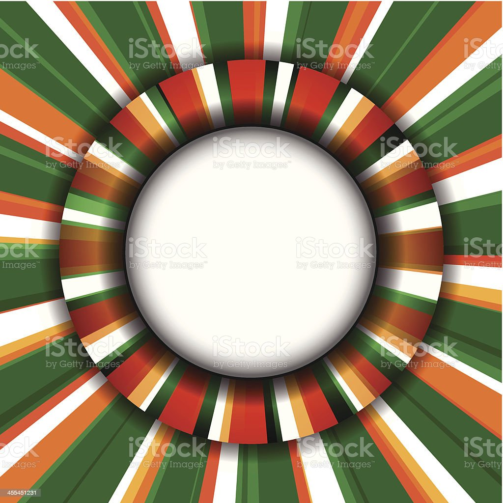 Colors of Ireland Background royalty-free stock vector art