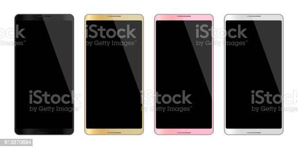 Colors smartphones mobile phone isolated empty display vector image vector id913370694?b=1&k=6&m=913370694&s=612x612&h=sk aqgfxyydp9i5g2fd8ystu9uqc81bma2uifjrru6q=