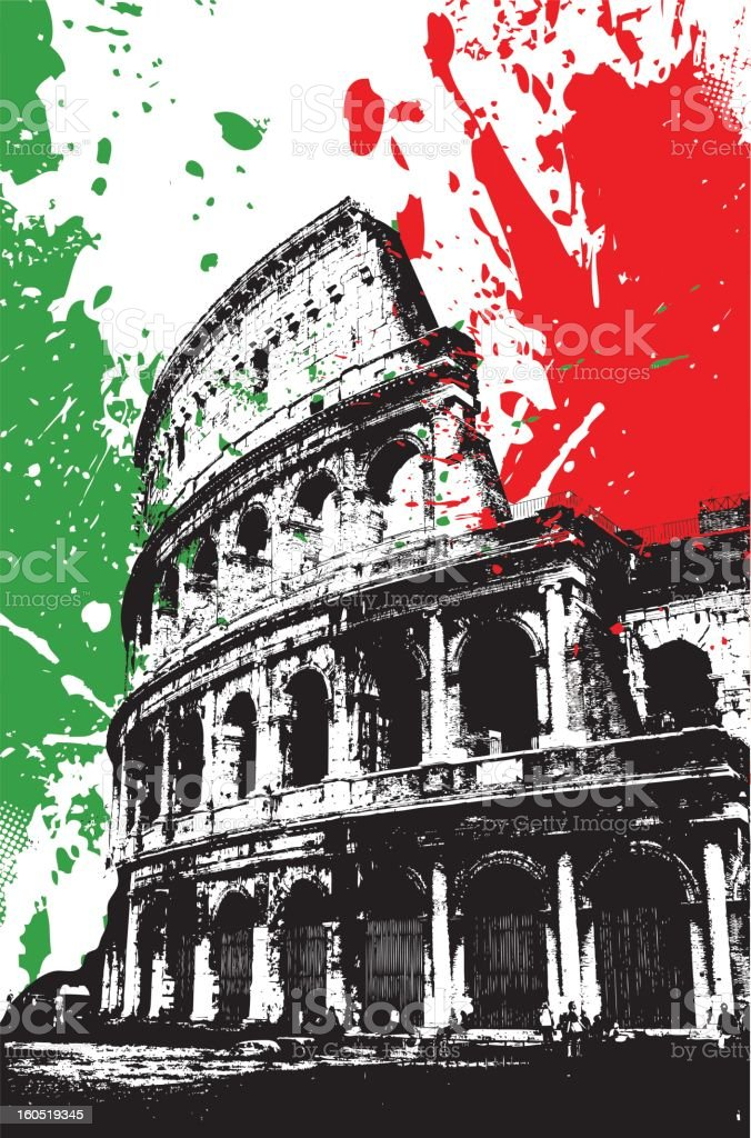 Colosseum in Rome royalty-free colosseum in rome stock vector art & more images of amphitheater