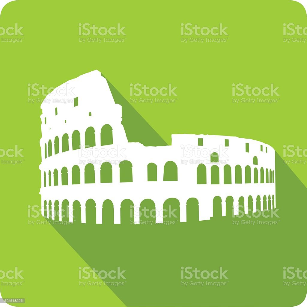 Colosseum, vector illustration vector art illustration