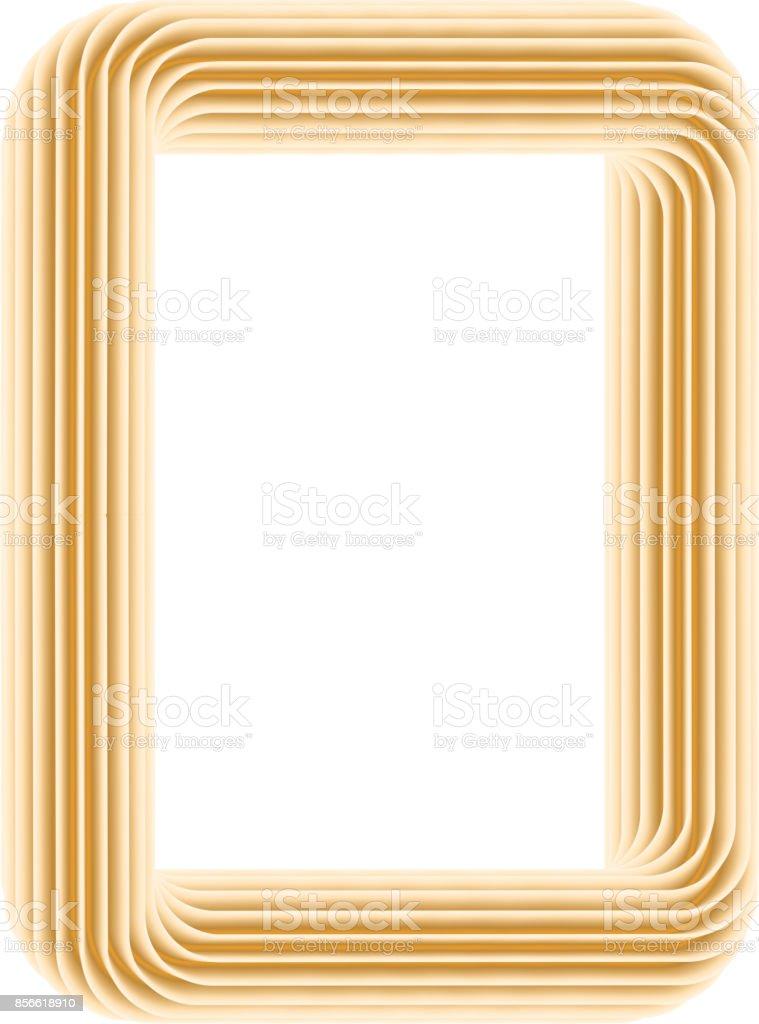 Farbe Rahmen Auf Den Weißen Vektor Stock Vektor Art und mehr Bilder ...