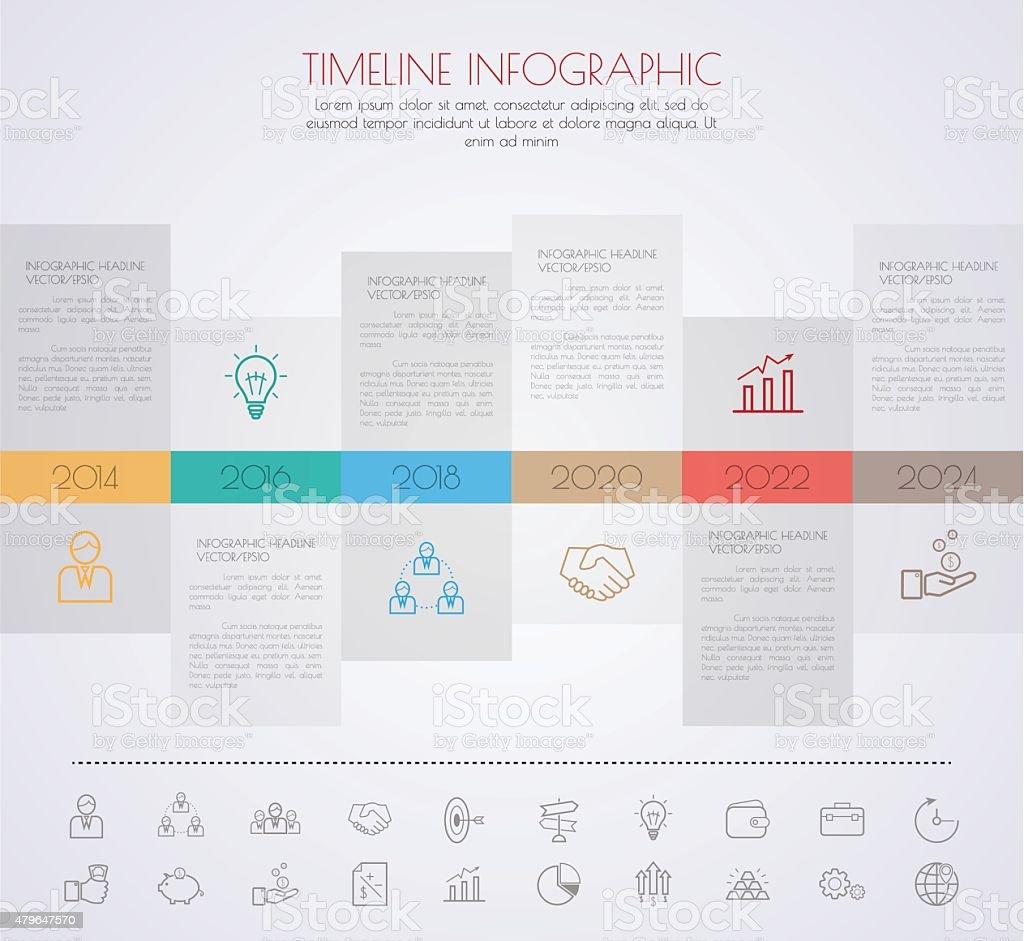Farbe StepDesign klaren Nummer Zeitplan Vorlage/Grafik oder Spinnennetzen – Vektorgrafik