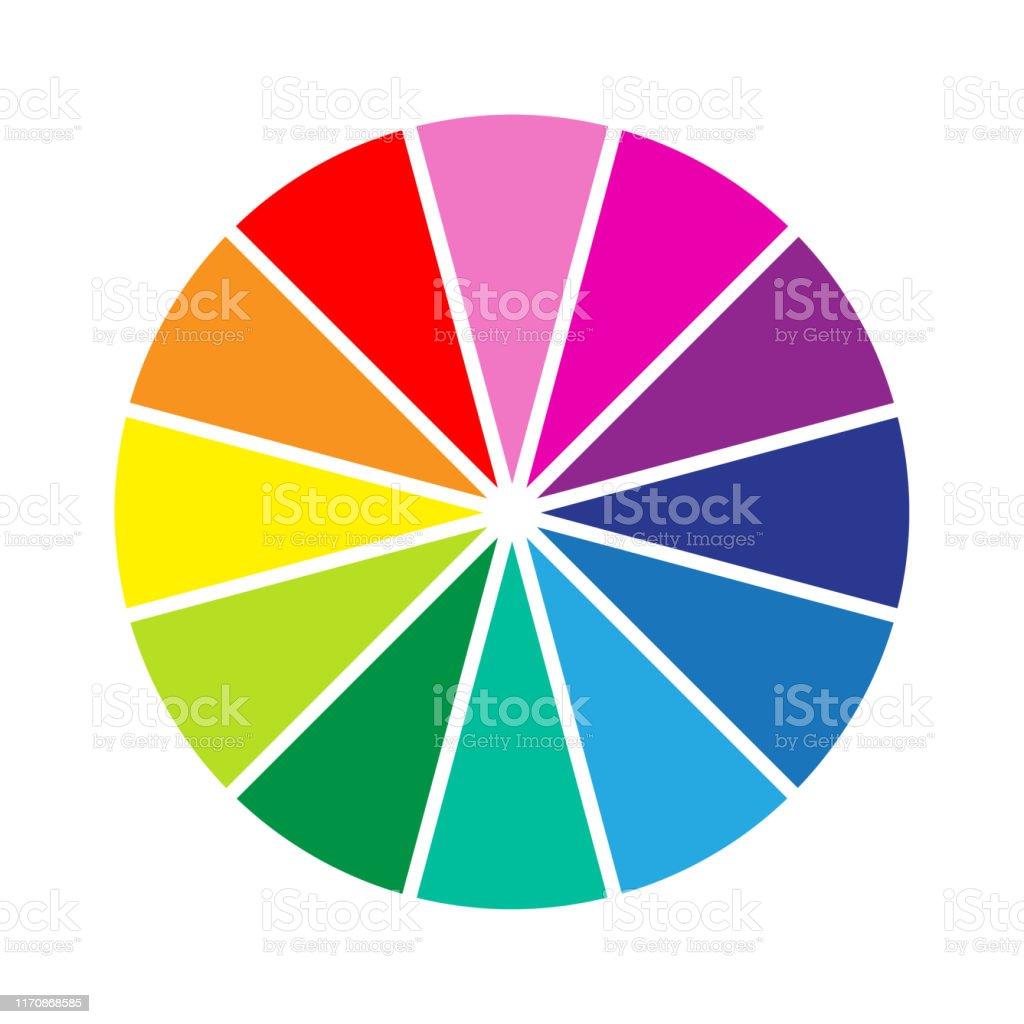 Colour Wheel Stock Illustration Download Image Now Istock