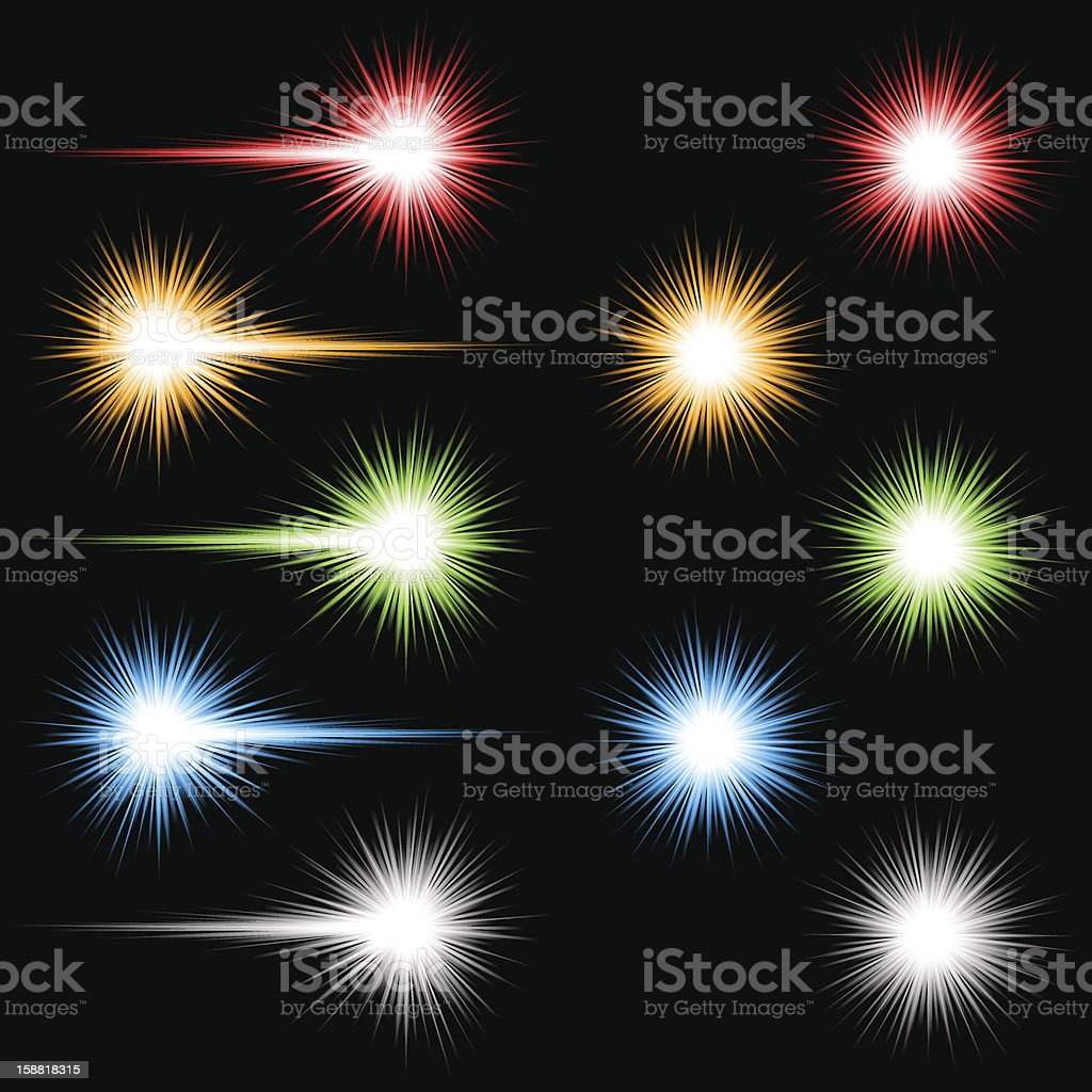 Coloured lights royalty-free coloured lights stock vector art & more images of abstract