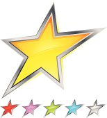 Coloured Stars