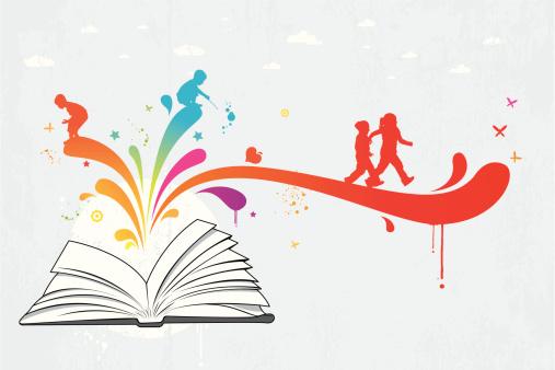 Colourful children book