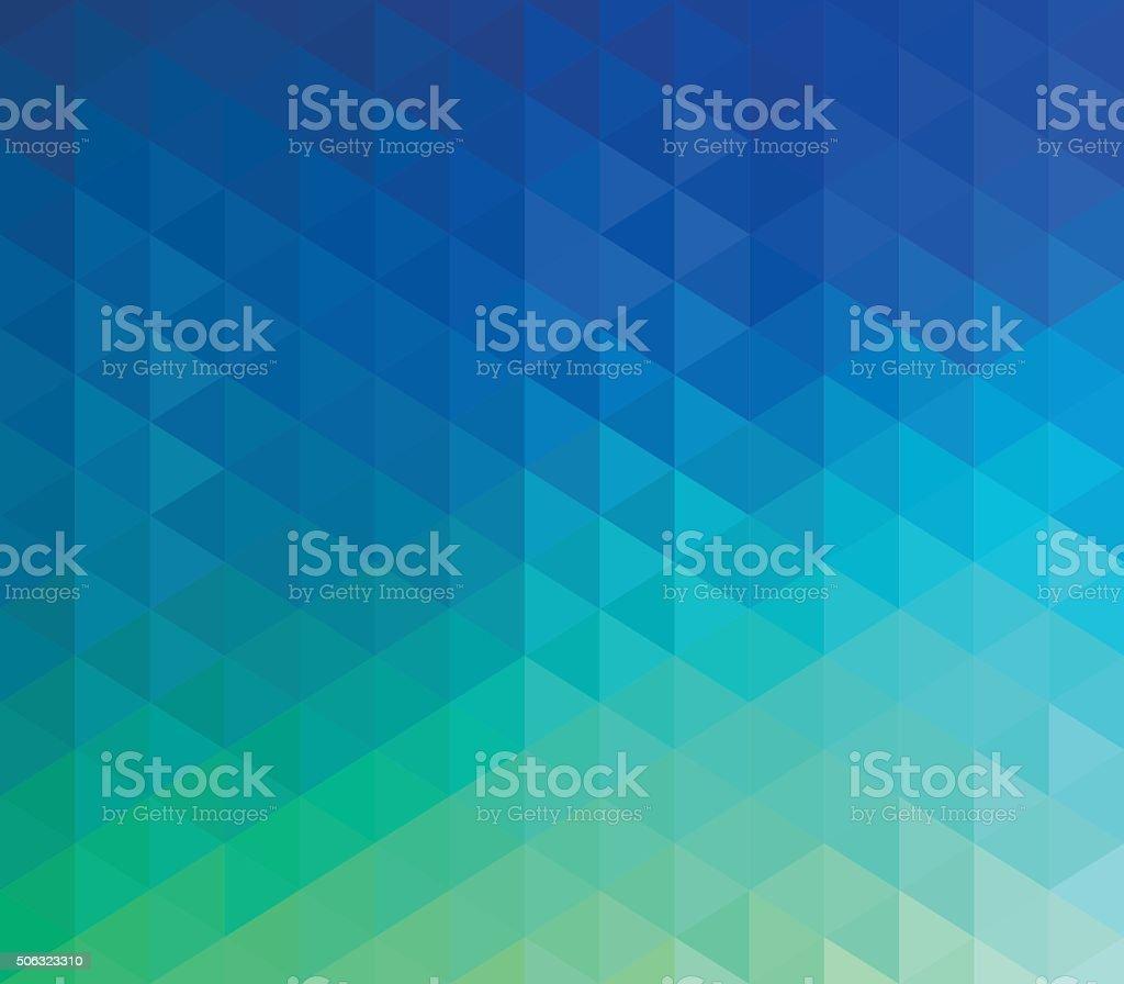 Colorido fundo geométrico - ilustração de arte em vetor