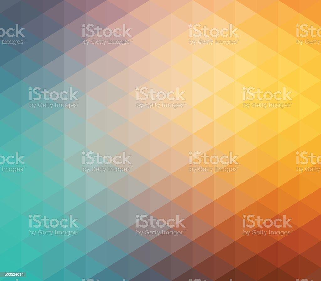 Colourful Geometric Background vector art illustration