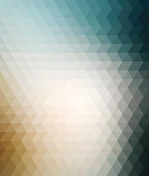 illustrazioni stock, clip art, cartoni animati e icone di tendenza di colorato sfondo geometrico - beige