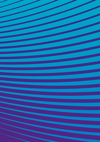 Colourful Half Tone Abstract Background Curved Lines