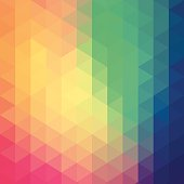 Colourful hexagon abstract background. JPG and Aics3 files are included.