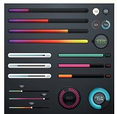 Colourful progress bars