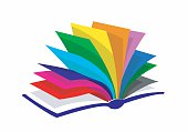 colourfull book