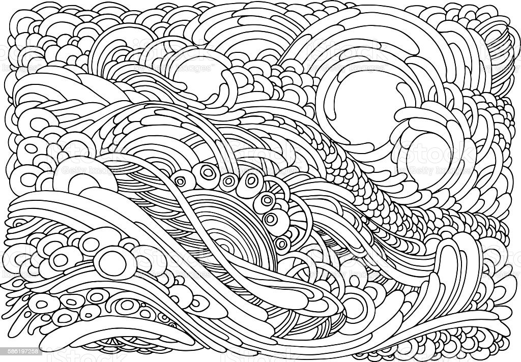 Colouring page with flowers