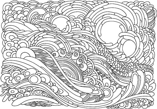 Best Coloring Pages Illustrations Royalty Free Vector