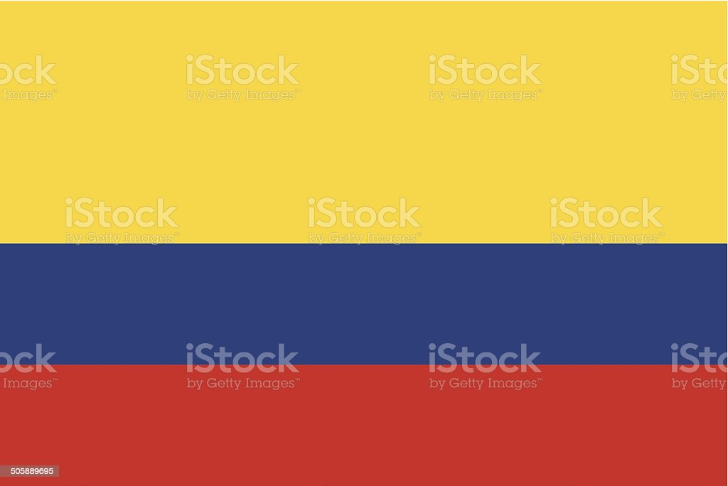 Columbia Flag Stock Vector Art More Images Of Colombian Flag