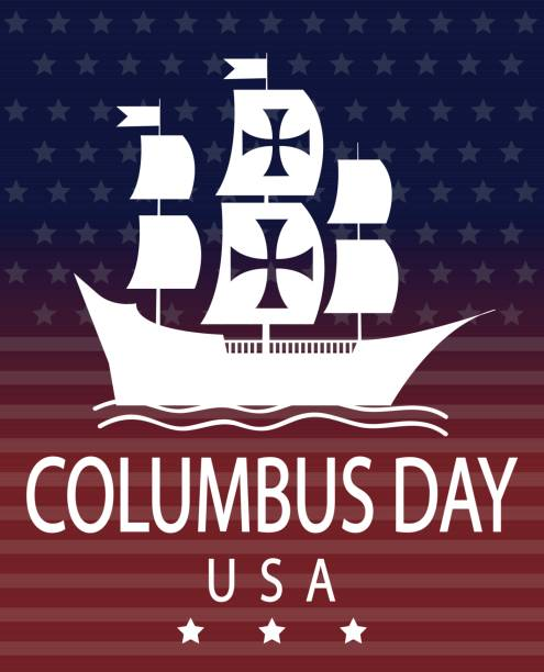 Best Columbus Day Illustrations, Royalty-Free Vector ...