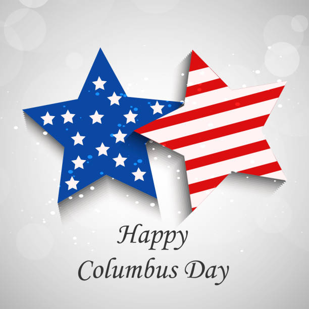 abd columbus daybackground - columbus day stock illustrations