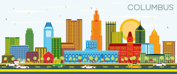 Best Columbus Ohio Illustrations Royalty Free Vector