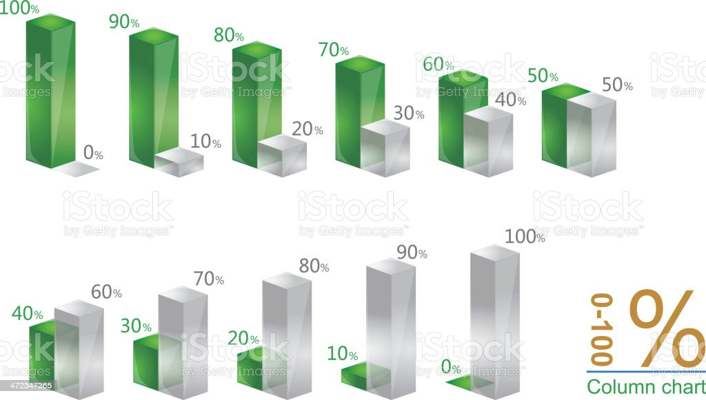 Column graph royalty-free column graph stock vector art & more images of architectural column