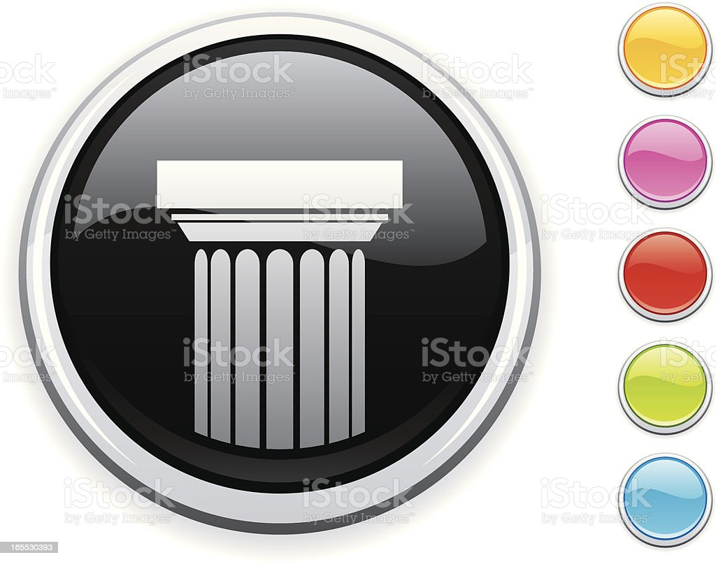 Column icon royalty-free column icon stock vector art & more images of ancient