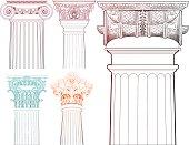 Columns set