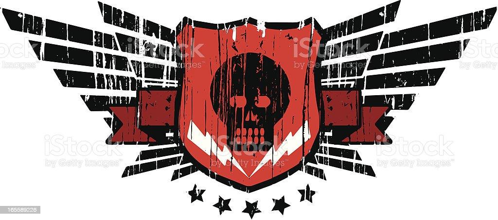 comando skull royalty-free stock vector art